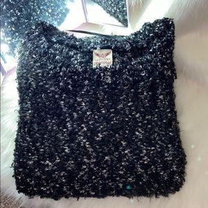 Black sweater !!